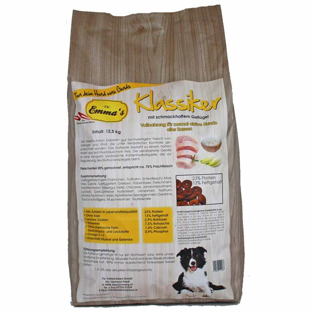 Emmas dog food Klassiker dry food