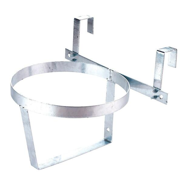 Bucket holder galvanized for hooking in