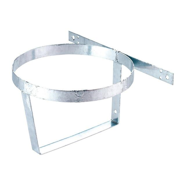 Bucket holder galvanized for screwing on