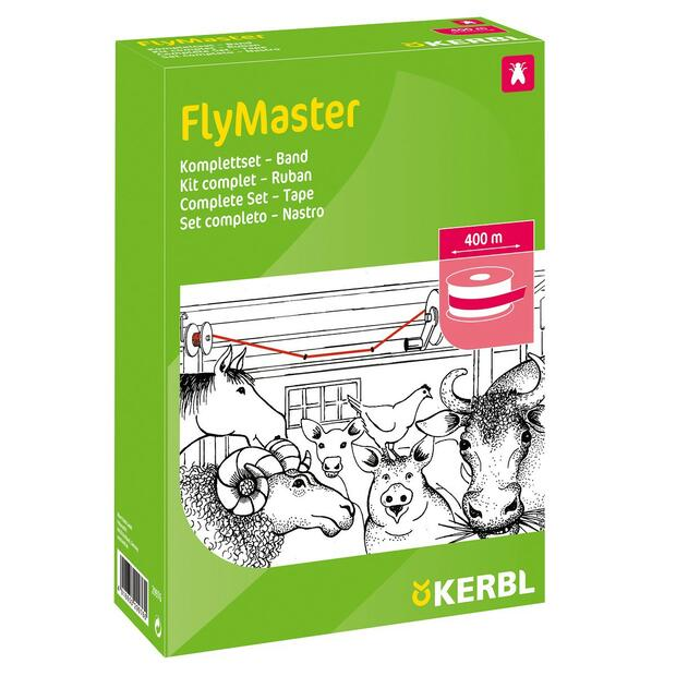 Fly catcher FlyMaster tape 400 m complete kit