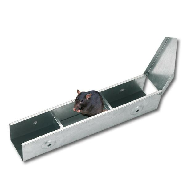 Bait station BlocBox metal 40 cm long