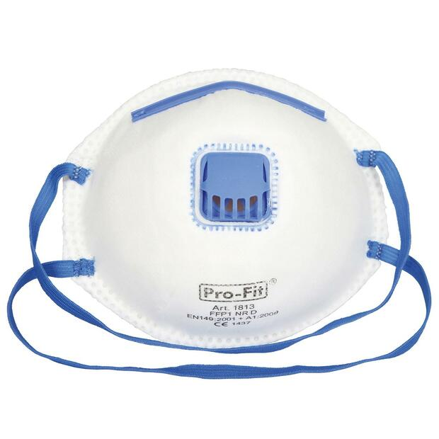 Dust Mask FFP1 NR D with Valve