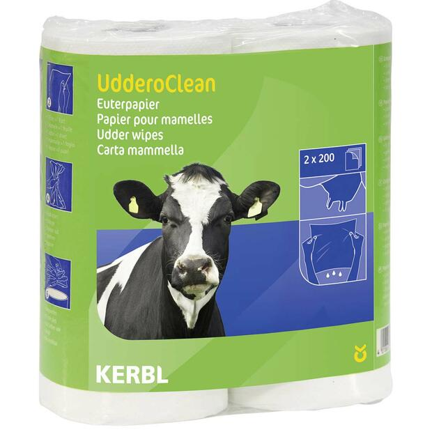 Udder paper Uddero Clean fordry and wet 2 x 200 sheets