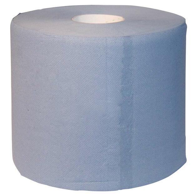 2 x Cleansing roll blue 3-ply 500 sheets