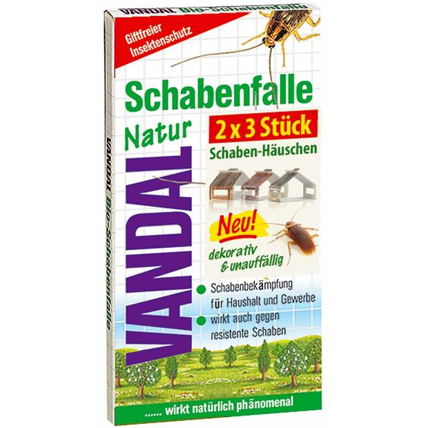 Vandal nature cockroach trap 2 x 3 Stk.