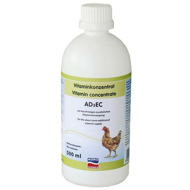 Vitamin concentrate AD3EC poultry 500 ml